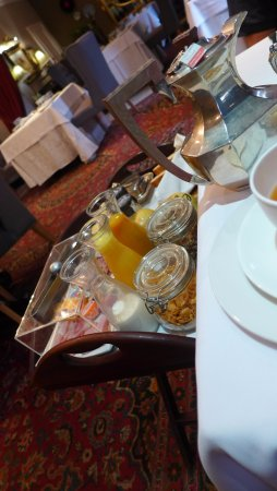 The Residence Boutique Hotel: continental breakfast brought to your table.