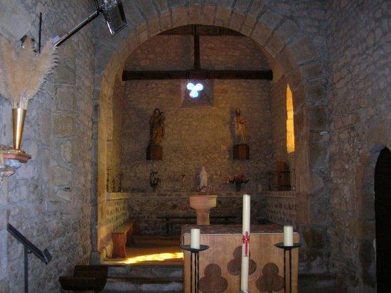 Saint Eugene, ฝรั่งเศส: Eglise de Saint Eugène - interieur