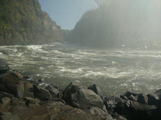Victoria Falls (Mosi-oa-Tunya) National Park: The mighty Victoria falls