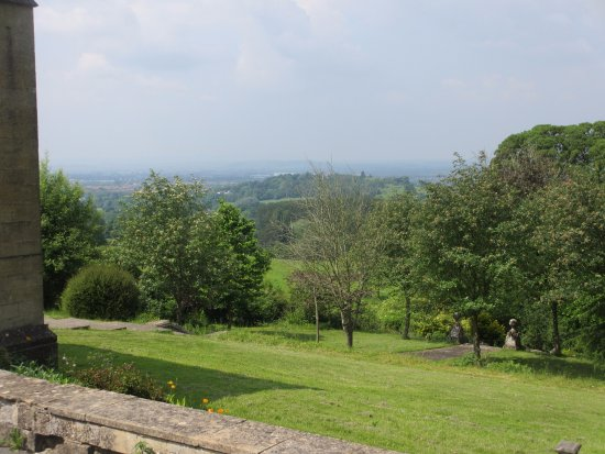 Prinknash Abbey : This is the view of Gloucestershire from the little chapel