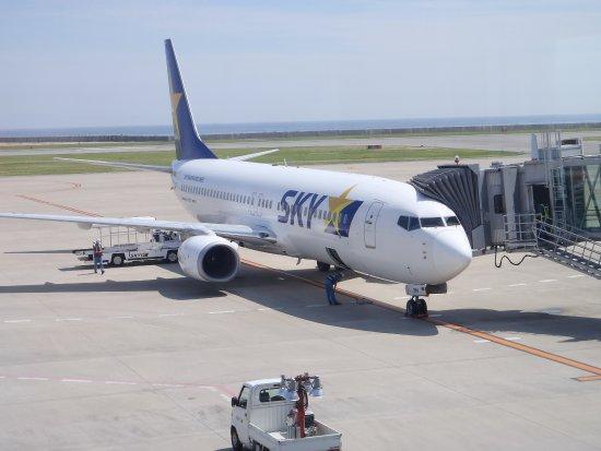 סקיימארק איירליינס: 神戸空港にて