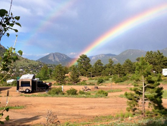 Mary's Lake Campground: Paradise at the end of thte rainbow