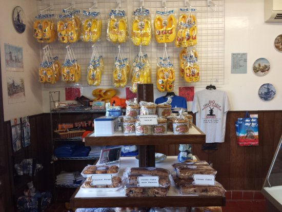 Sussex, Νιού Τζέρσεϊ: dutch packaged baked goods and trinket