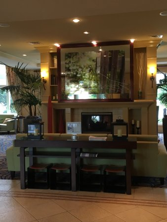 Hilton Garden Inn at PGA Village / Port St. Lucie : Lobby, quaint area