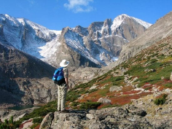 Mary's Lake Campground: Hiking in RMNP