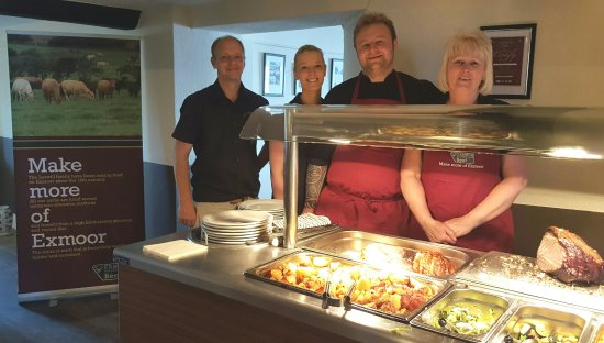 Bishops Lydeard, UK: Meet the Family Quality Carvery.