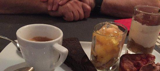 Barbentane, Francia: Gourmand dessert