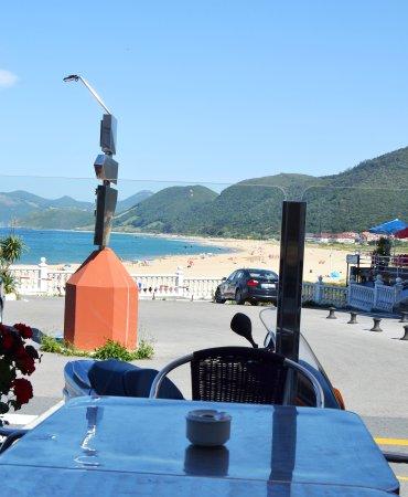 Hotel Arillo: TErraza de Cafeteria