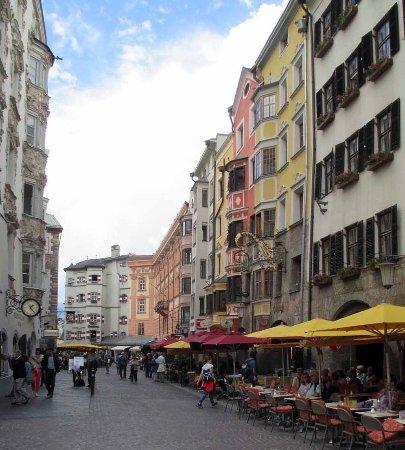 Hotel Restaurant Weinhaus Happ: the street where I lived