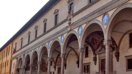 Portico del brunelleschi foto di museo degli innocenti for Avvolgere le planimetrie del portico