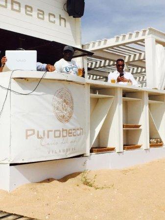 Dom Pedro Marina: Beach bar