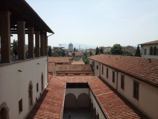 terrazza al terzo piano su Firenze - Foto di Museo degli Innocenti ...
