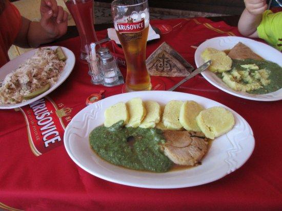 Hotel Zalozna: Domácí kuchyně
