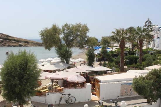 Hotel Asteria: View from the balcony