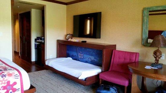 Disney S Polynesian Village Resort Open Murphy Bed In The
