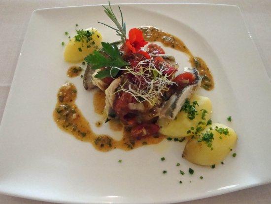 Zee Restaurant: Felchen gebraten