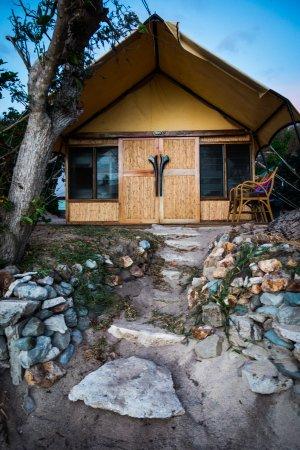 Kuata Island, Fiji: Deluxe Dorm / Tent