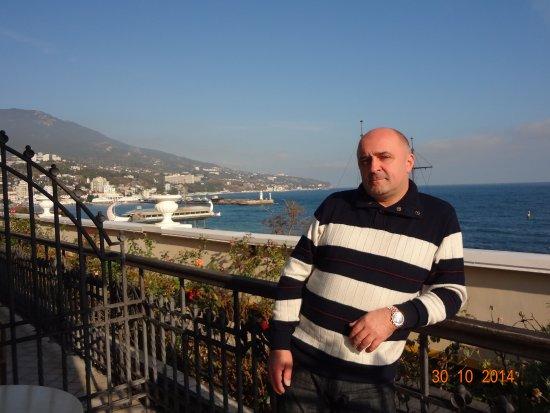 Hotel Oreanda: Наша терасса