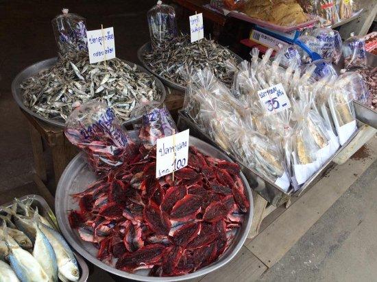 Ban Phe Market: อาหารแห้ง