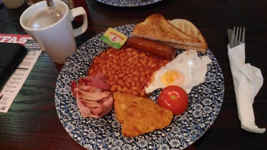The Blackwater Stream: English Typical Breakfast