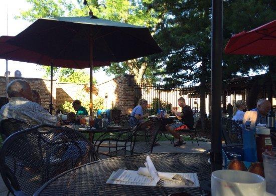 Prescott, WI: The patio