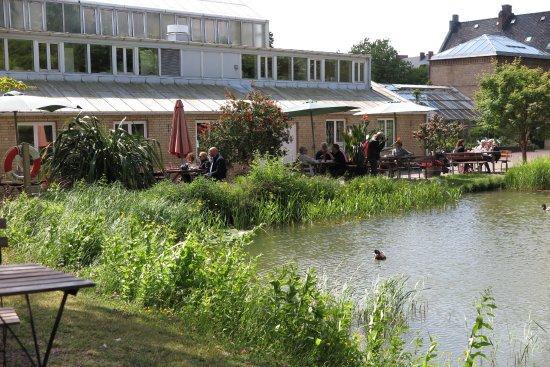 Lund, Svezia: Uteserveringen rekommenderas, inne mindre roligt