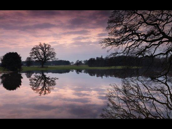 Castlemartyr, Irland: Sunset