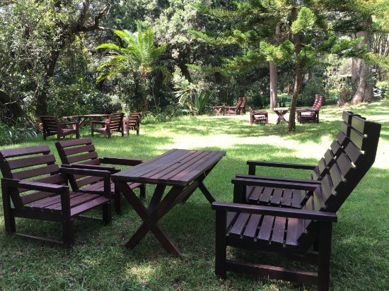 Naro Moru, Kenia: Wonderful relaxation on a sunny day