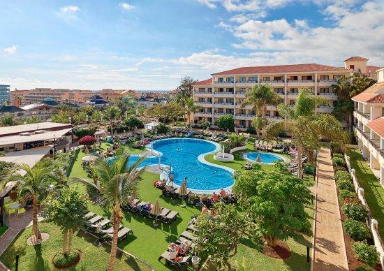 Aparthotel Parque de la Paz: Vista de la piscina