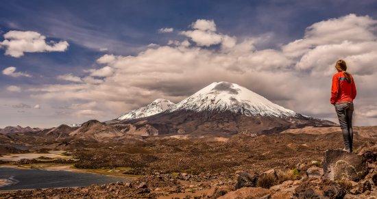 Putre, Chile: Mirador Volcanes Payachatas