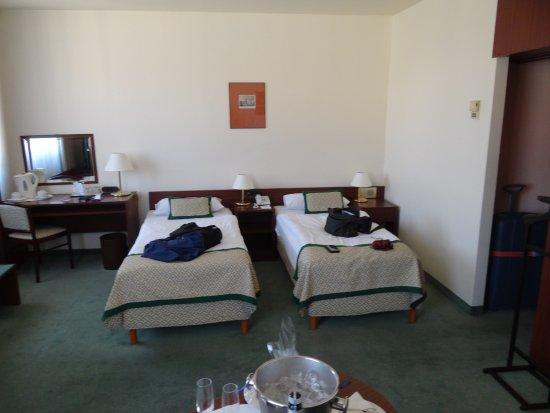 Hotel Hungaria City Center: Dubbelrum 610, större än andra!