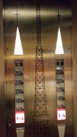 Tokyo Tower: How high will you go?
