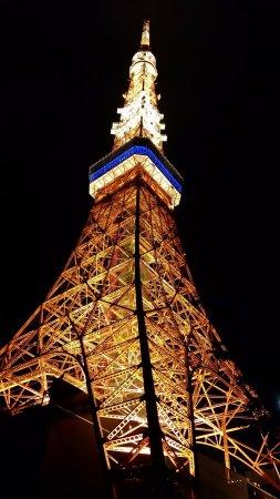 Tokyo Tower: Beautiful at night!