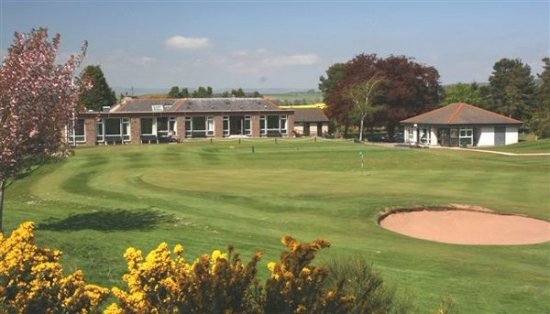 Forfar, UK: 18th hole