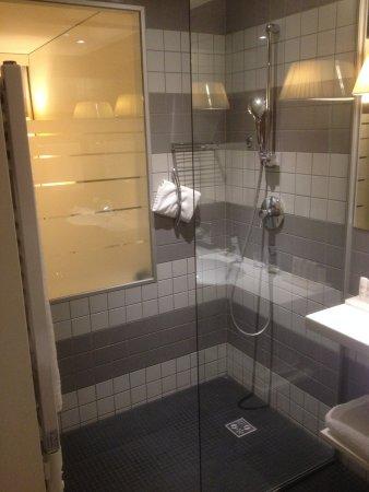 La douche, très moderne. - Picture of Radisson Blu Hotel, Zurich ...