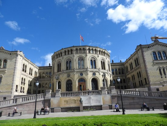 ‪The Norwegian Parliament‬