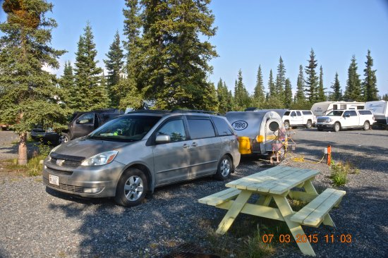 Northern Nights Campground and RV Park: Our Campsite