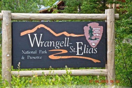 Wrangell-St Elias National Park and Preserve, อลาสกา: Entrance to Park