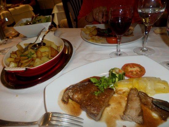 Mittelhausen, France : pluma de porc ibérique tendre à souhait