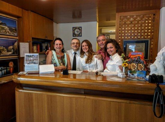 Castellinaria Hotel: gracias por el exquisito trato a Carol, Fidele,Aurelia ,Adelaida y al resto del equipo.