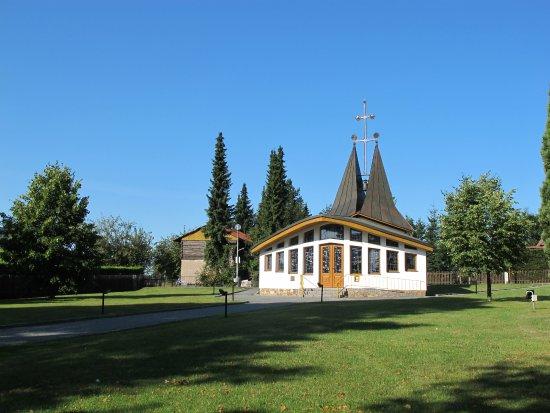 Skrdlovice, สาธารณรัฐเช็ก: Kaple Cyrila a Metoděje ve Škrdlovicích, Vysočina