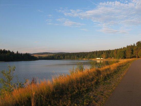 Skrdlovice, สาธารณรัฐเช็ก: Velké Dářko - vodní nádrž