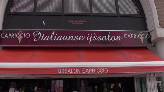 IJssalon Capriccio: Frontzicht