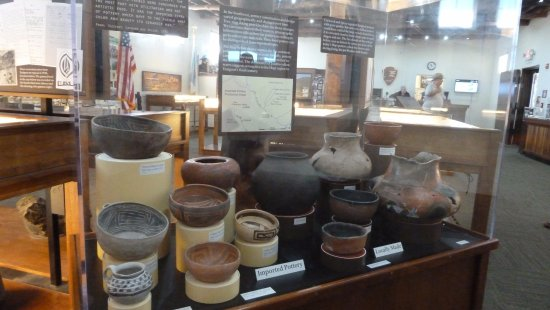 Clarkdale, AZ: Tuzigoot National Monument Visitor's Center