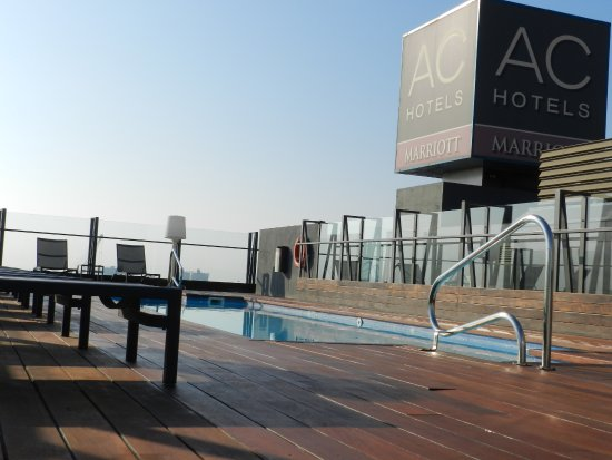 Ac Hotel Alicante Pool At The Roof