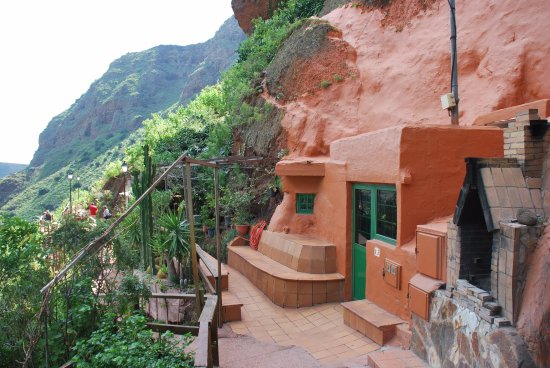 maison troglodyte picture of barranco de guayadeque gran canaria tripadvisor. Black Bedroom Furniture Sets. Home Design Ideas