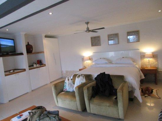 Villa Afrikana Guest Suites: Schlafzimmer