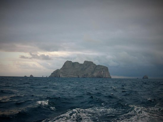 Malpelo Island, Colombia: leaving Malpelo - june 2016