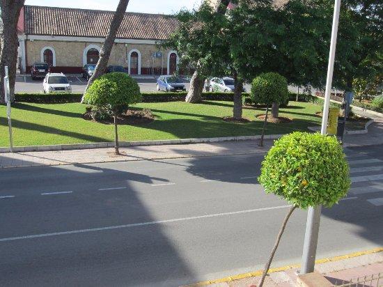Hotel Andalucia: вид из окна