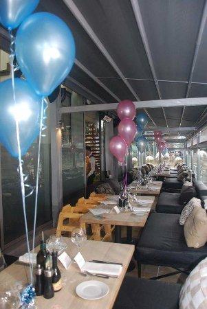 Wedding Reception In Side Terrace Bild Von Piccolino